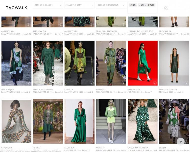 Такие зеленые, такие шелковые и такие разные :)
